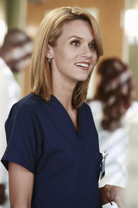 Lauren Boswell - Attending Craniofacial Surgeon surgeon whom Arizona slept with during a storm.
