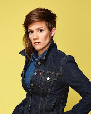 Cameron Esposito - She's female. And a comedian. Or a comic. Both at the same time.