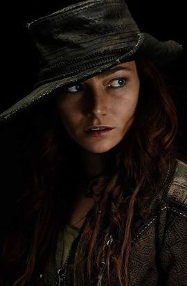Anne Bonny - A bisexual pirate from the Bahamas. She's opportunistic and psychopathic.