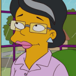 """Anita - One of the """"Cool Moms,"""" she started making out with the others after Marge left the group."""