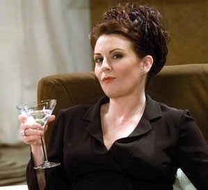 A picture of the character Karen Walker