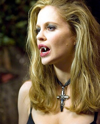 Pam Ravenscroft - Also known asPamela Swynford De Beaufort, sheis a vampireand second-in-command and co-owner ofFangtasia, a vampire bar. She's more openly bisexual in the books.