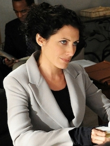 Celeste Serrano - A lawyer who had her first threesome with Will Gardner, she likes boys and girls.