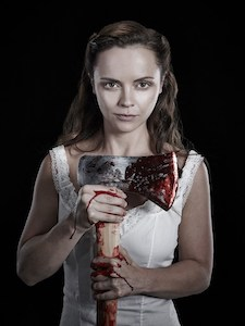 Lizzie Borden - While questionably queer, she kissed a girl and killed for her. And then killed the girl. Oh, Lizzie. Racking up the body count. At least she got away with all of it.