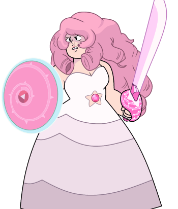 A picture of the character Rose Quartz - Years: 2014, 2015, 2016, 2017, 2018