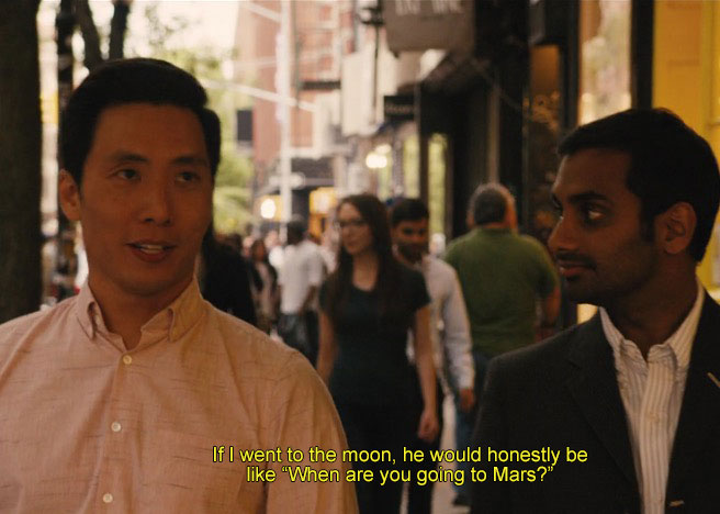 Master of None Thanksgiving