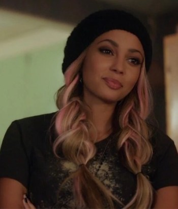 Toni Topaz - A vivacious member of the Southside Serpents, who is known for her signature pink hair and impressive appetite. She's 'more into girls.'
