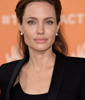 A picture of the actor Angelina Jolie