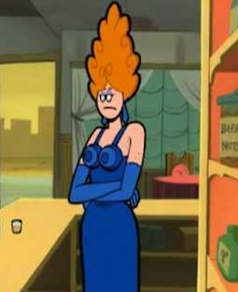 A picture of the character Anita Bidet