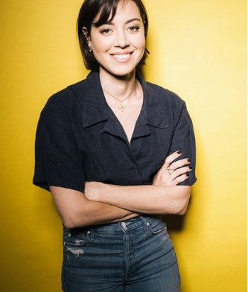 A picture of the actor Aubrey Plaza