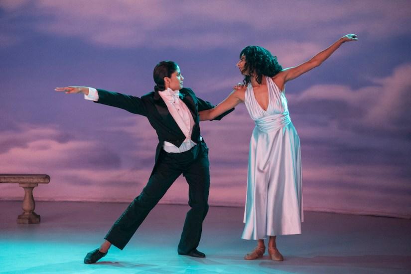 Yolanda and Arthi dancing.