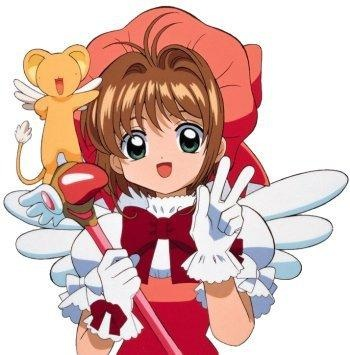 A picture of the character Kinomoto Sakura
