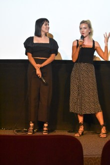 Zoe Chao and Meredith Hagner at Outfest