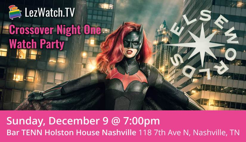LezWatch.TV Elseworlds crossover watch party