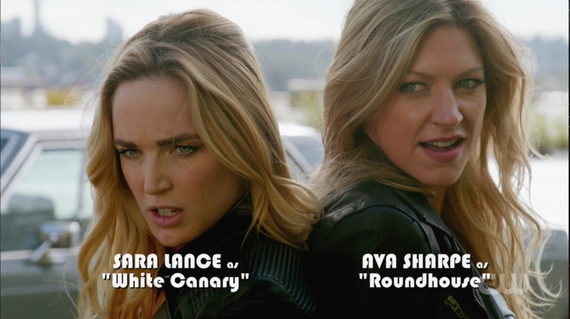 Sara and Ava from Legends of Tomorrow