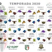 Calendario LFA 2020