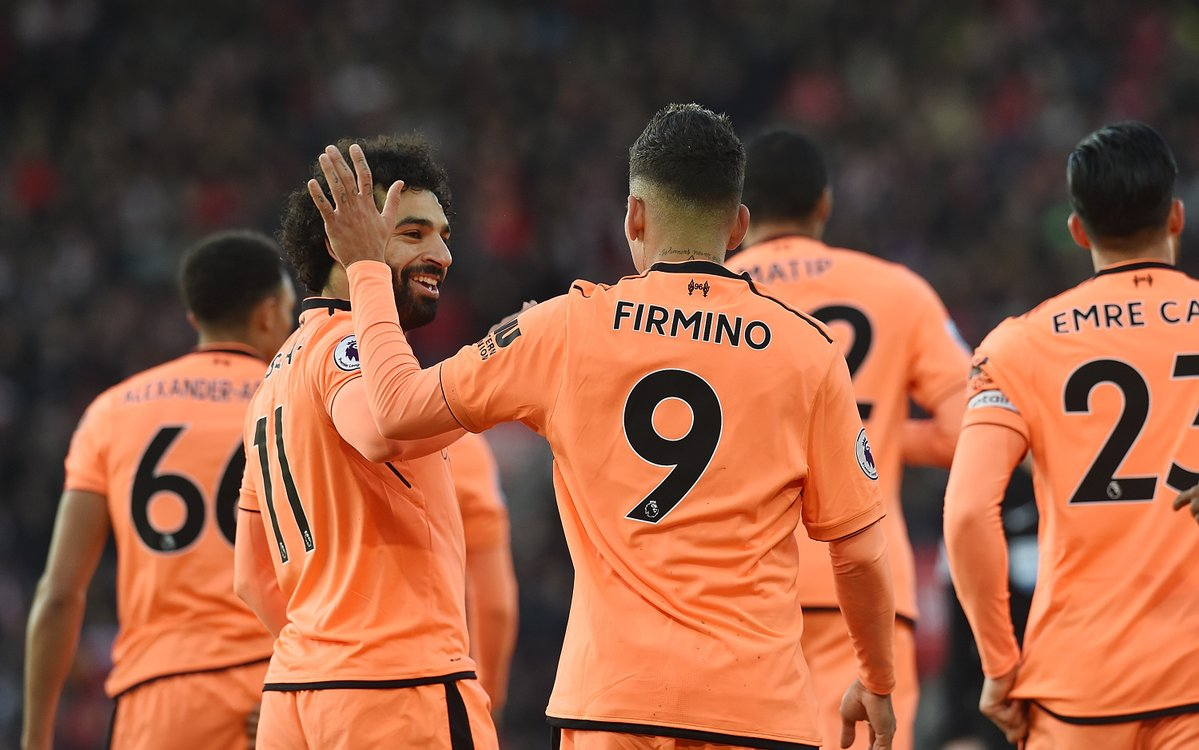 Southampton 0-2 Liverpool – Reds back to third in Premier League