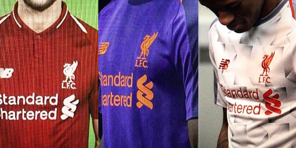 Liverpool's rumoured kits for 2018/19 season – Images leaked on social media