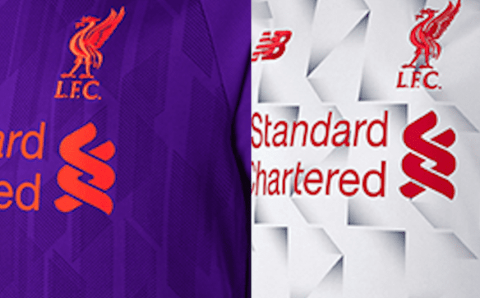 bb2ef6327 Liverpool FC s 2018 19 away and third kit have been released ahead of time  by New Balance after a blunder on their South Korean website.