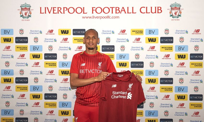Liverpool complete signing of Fabinho from Monaco