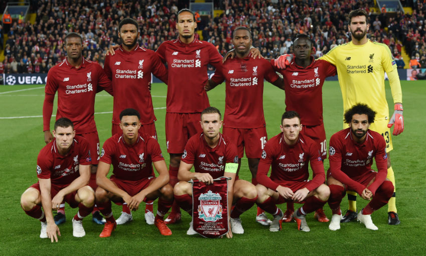Liverpool FC Fixtures, Results and Table - 2018/19