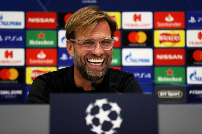 Watch: Jurgen Klopp & Gini Wijnaldum's pre-Napoli press conference