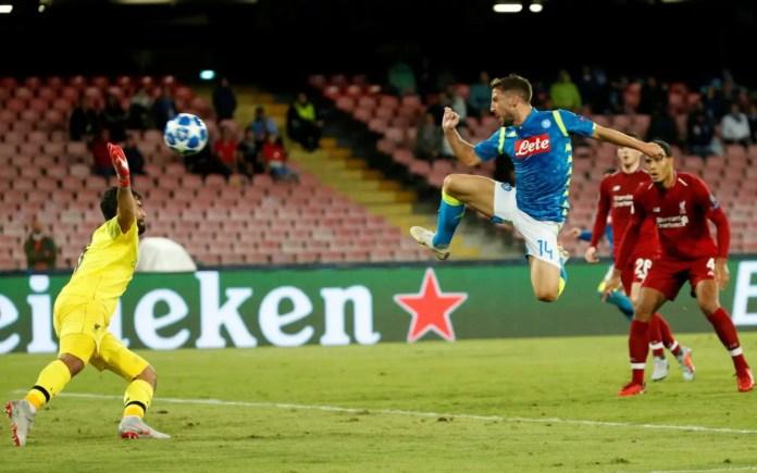 Napoli vs Liverpool