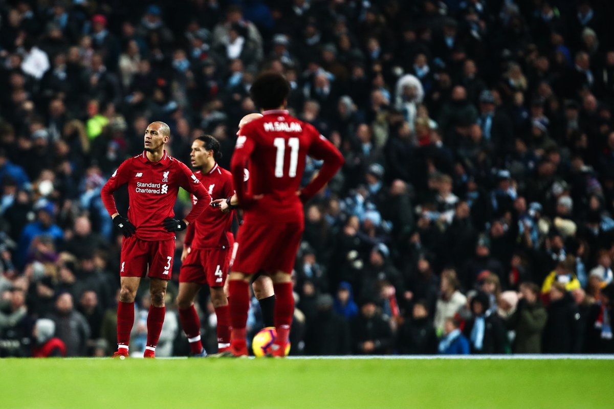 Liverpool shouldn't panic after Manchester City defeat, insists Van Dijk