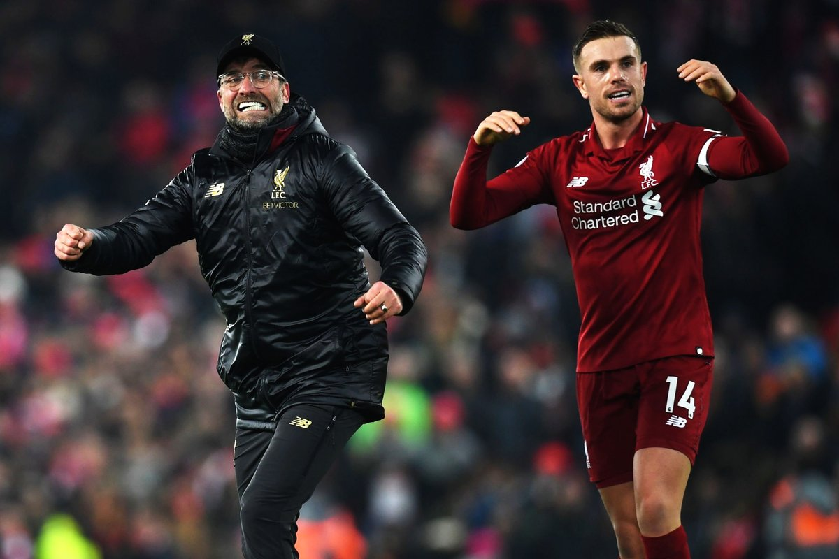 Jurgen Klopp's relief evident after dramatic Crystal Palace win