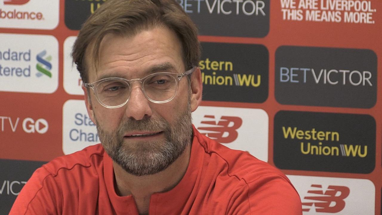 Jurgen Klopp previews Liverpool's clash with Crystal Palace