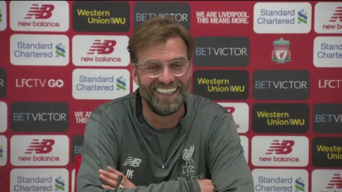 Jurgen Klopp's pre-match press conference – Man City vs Liverpool