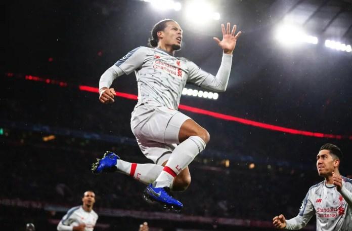 Bayern vs Liverpool highlights