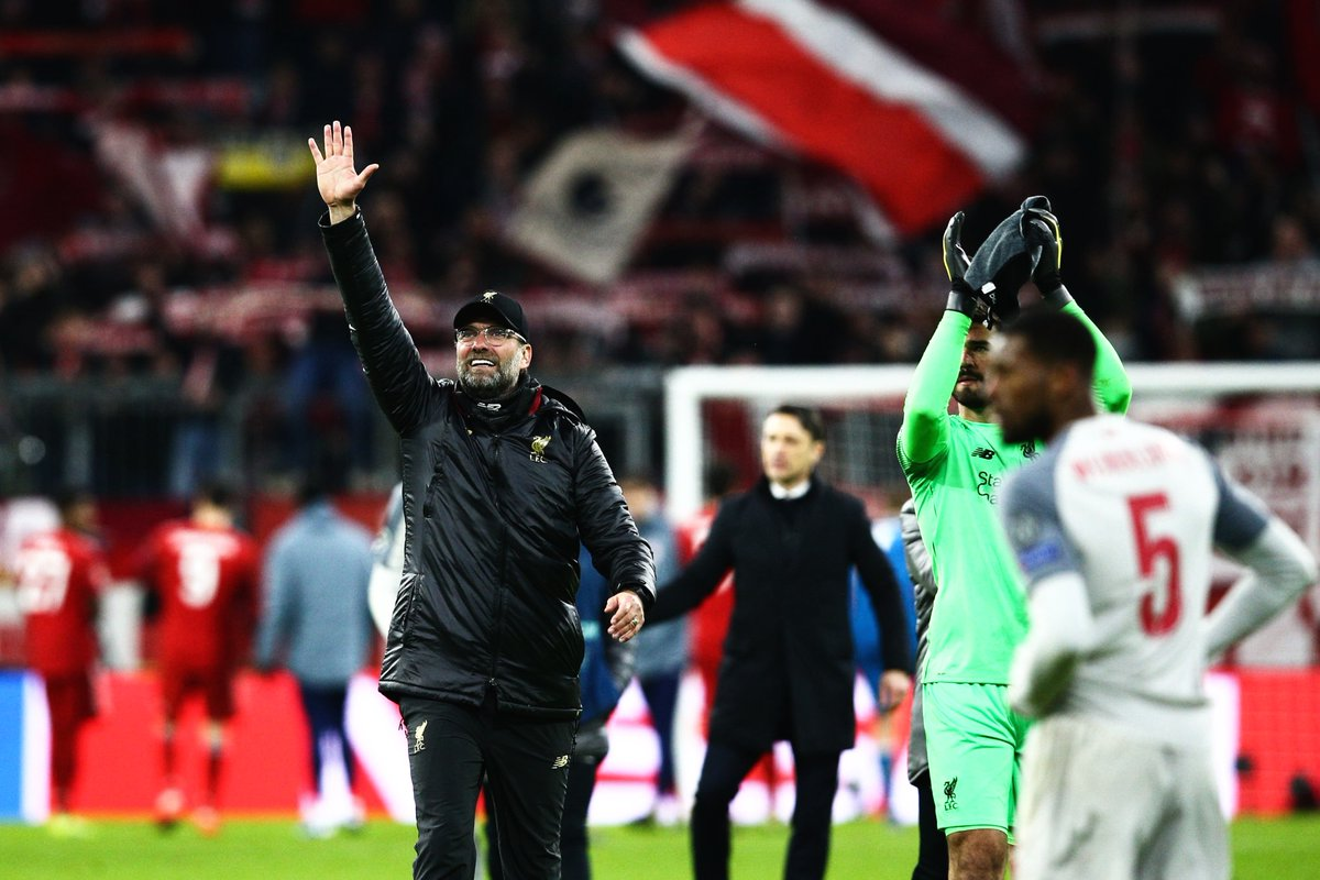 Jurgen Klopp feeling proud after putting Liverpool back on the map with Bayern win