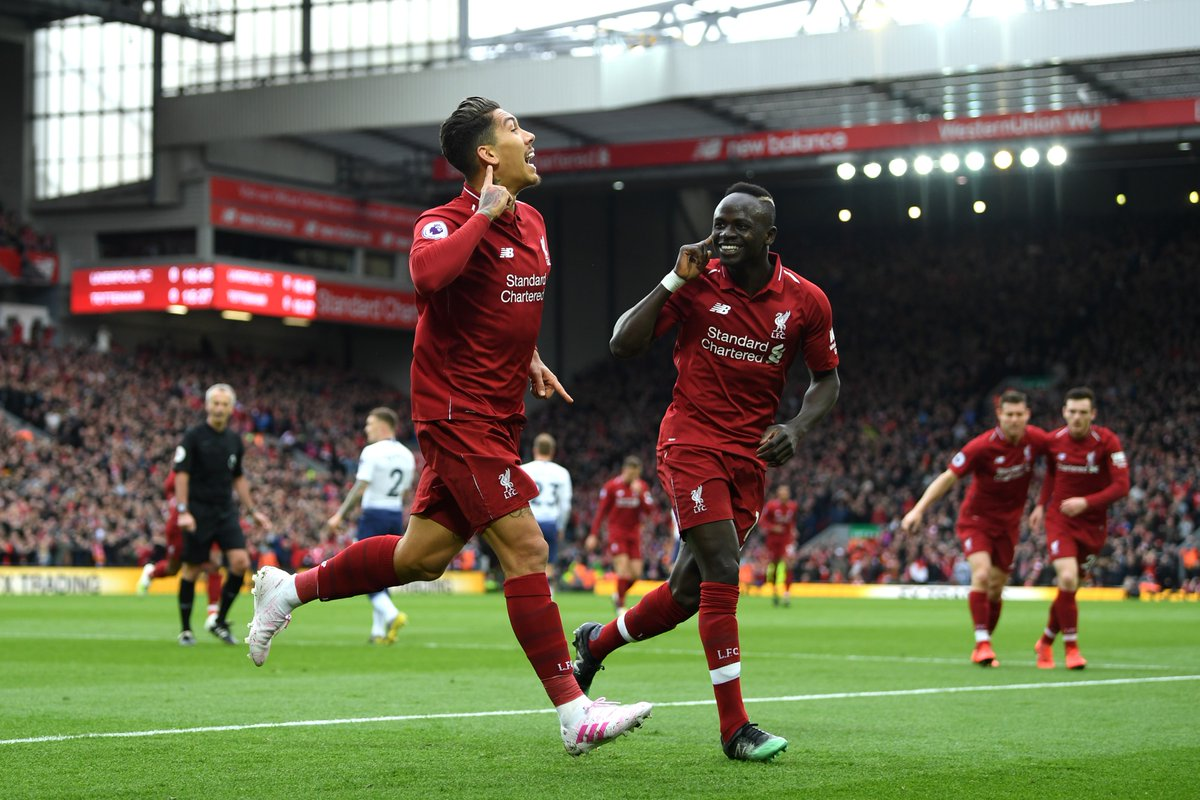 Watch – Roberto Firmino scores crucial opening goal against Spurs