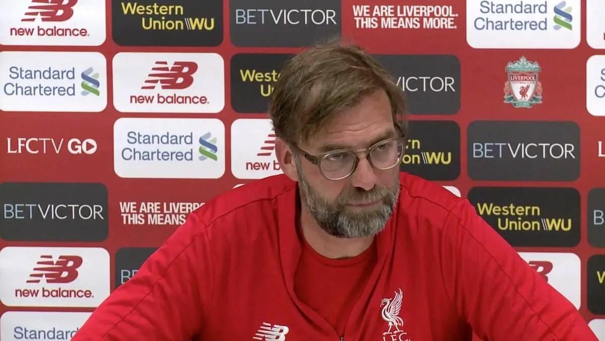 Watch: Jurgen Klopp's pre-match press conference – Liverpool vs Tottenham