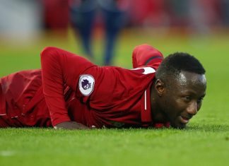 Naby Keita omitted from squad