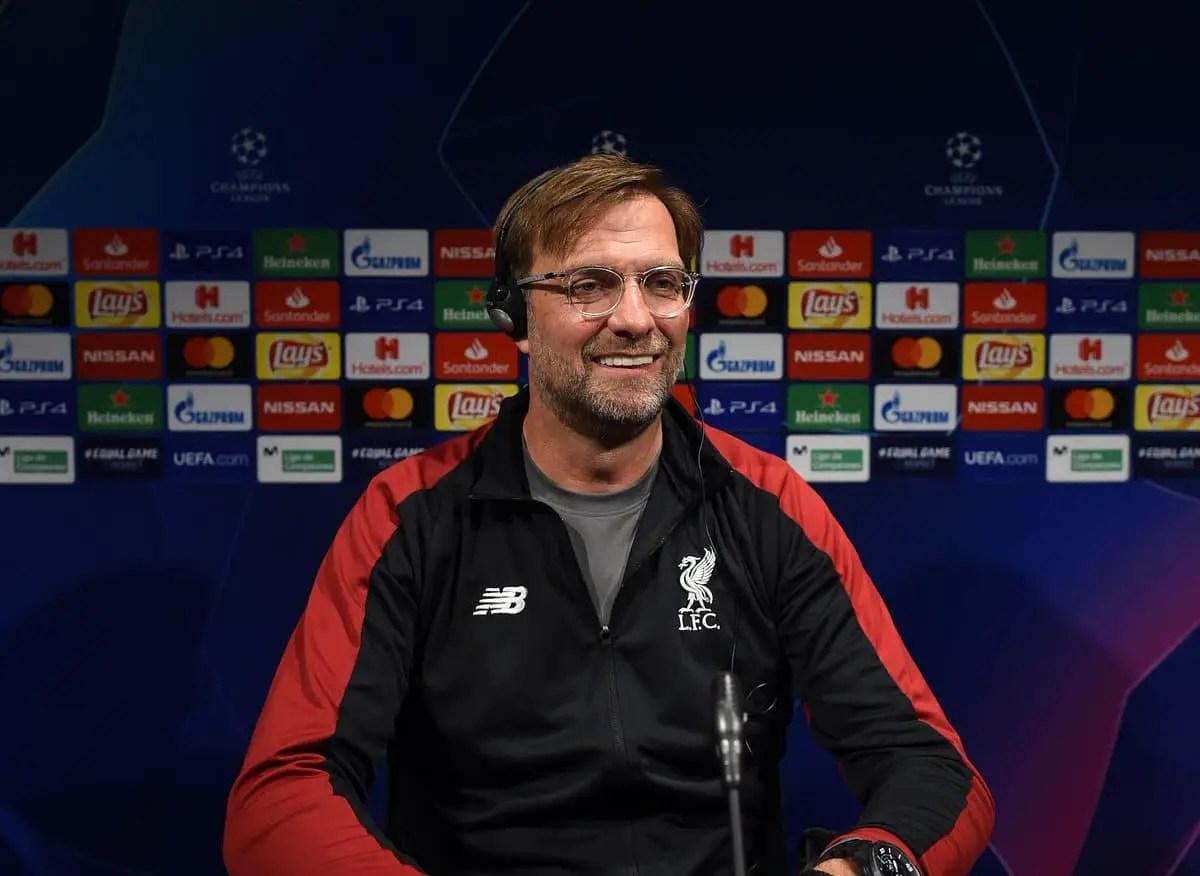 Jurgen Klopp's pre-match press conference – Liverpool vs Barcelona
