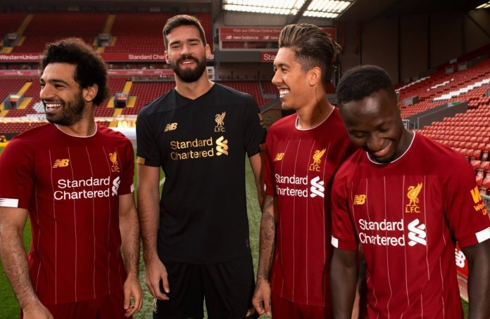 755494585995d Liverpool FC and New Balance reveal home & goalkeeper kit for next ...