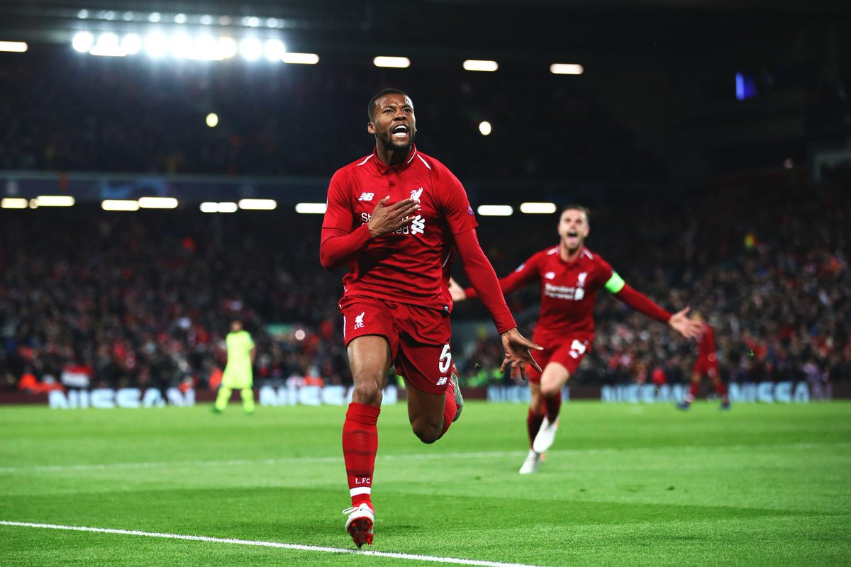 Liverpool vs barca  goals