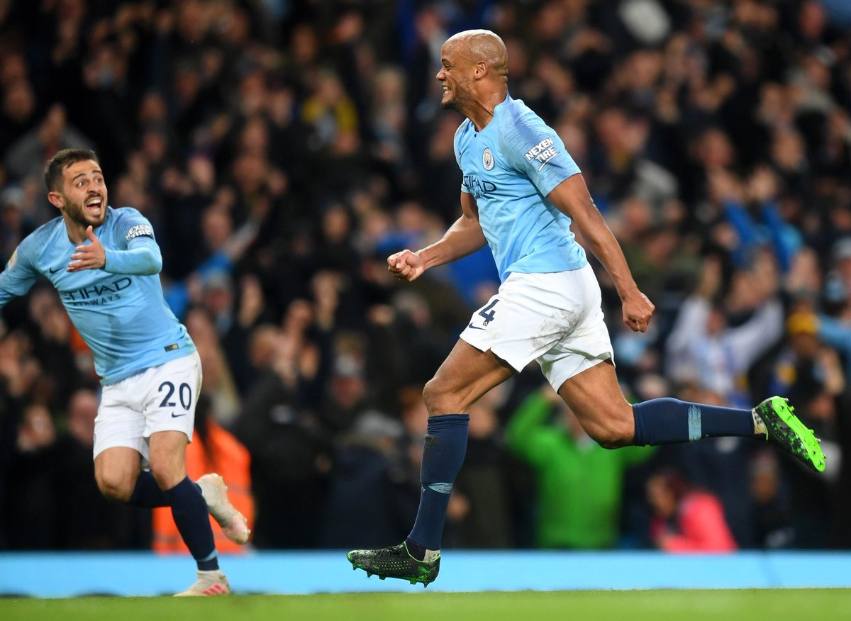 Playing time key for Vincent Kompany in Manchester City contract talks