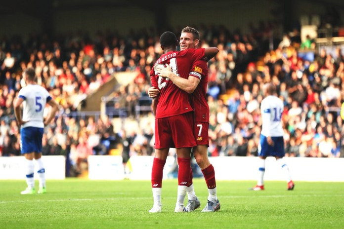 Tranmere vs Liverpool Highlights