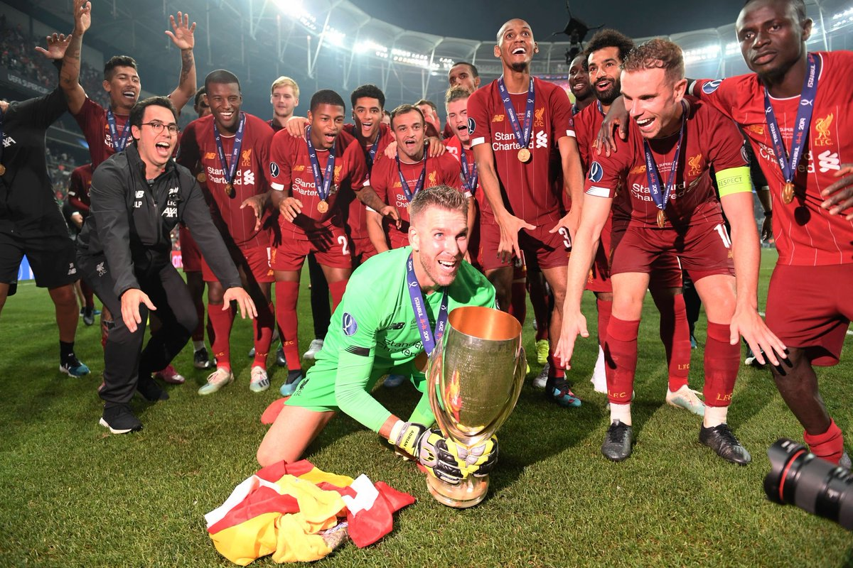 All the best photos from Istanbul as Liverpool lift UEFA Super Cup