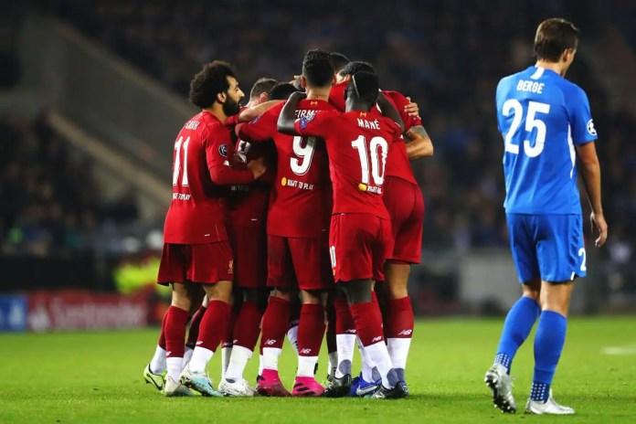 Genk vs Liverpool Highlights