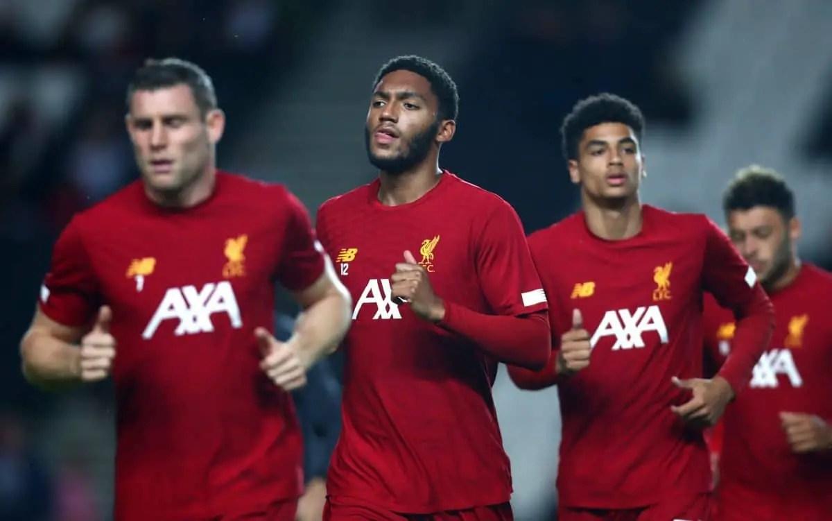 Confirmed Liverpool team vs Salzburg – Gomez comes in for injured Matip