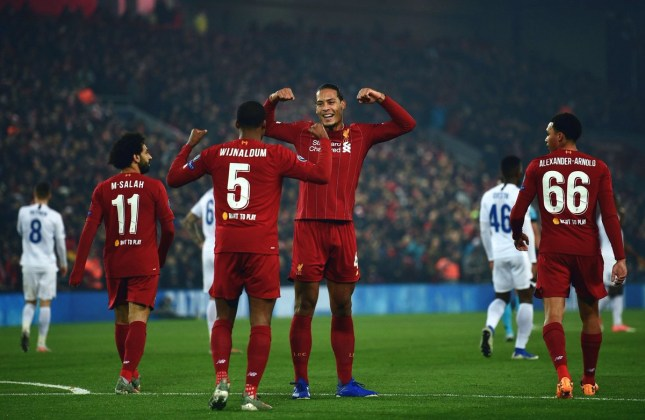 Liverpool vs Genk Photos