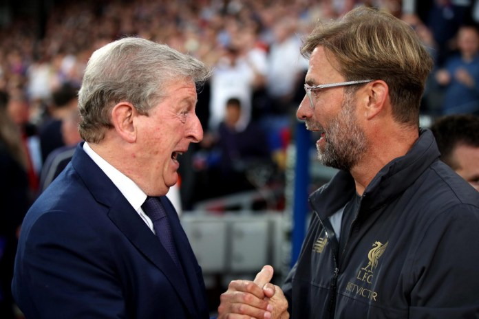 Roy Hodgson and Jurgen Klopp