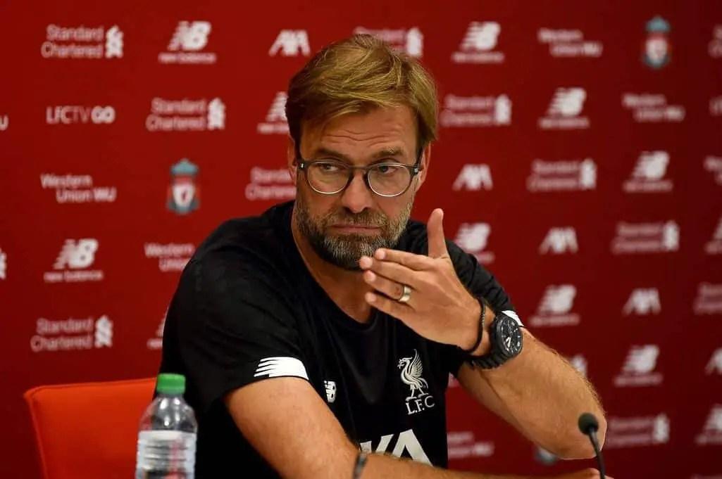 Watch: Jurgen Klopp's pre-match press conference – Liverpool vs Brighton