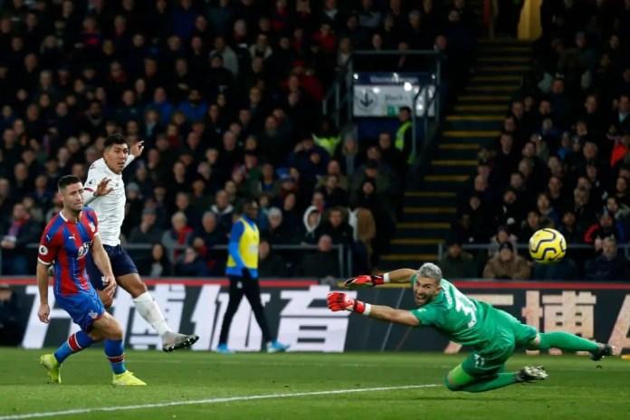 Firmino Goal vs Crystal Palace