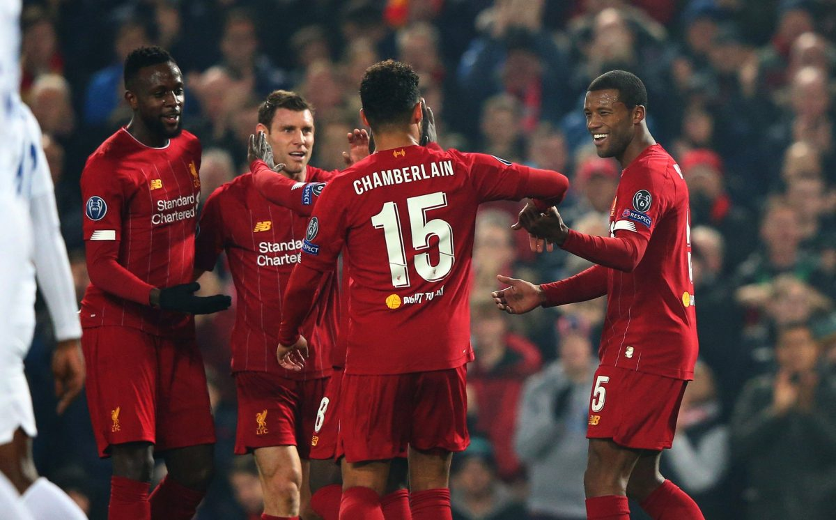 Liverpool 2-1 Genk – Highlights and Goals (Video)