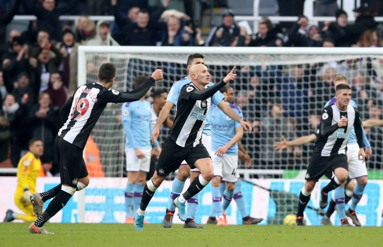 Advantage Liverpool as Newcastle United hold Manchester City to 2-2 draw